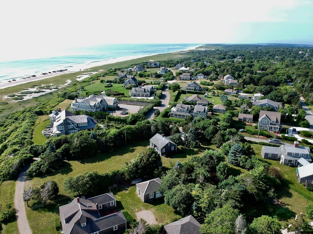 Drone over Nauset Heights